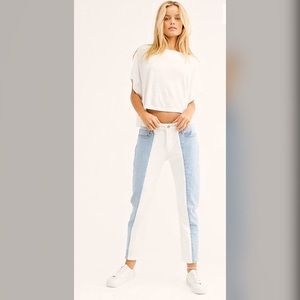 Free People 501 Taper Cropped NWT